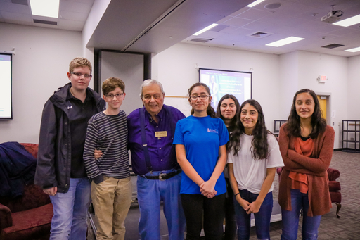 "Holocaust Survivor Advises Dalton Middle School Students to ""Never Stop Learning"""