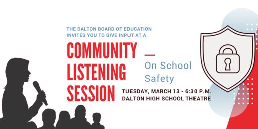 Dalton Board to Hold Listening Session on School Safety
