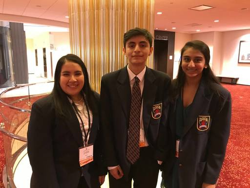 DHS Senior Lina Rangel Places Top 7 in State DECA Competition
