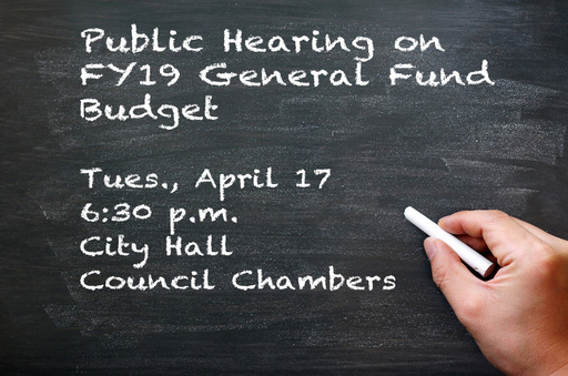 Board to Hold Public Hearing on Budget