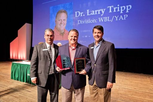 Larry Tripp Named Georgia Association for Career and Technical Education Teacher of the Year at 2018 GACTE Conference