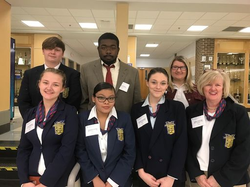 MIHS FBLA Members Leave Region Conference as Winners