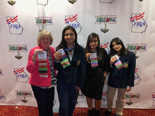 Morris Innovative FBLA Members Attend State Leadership Conference