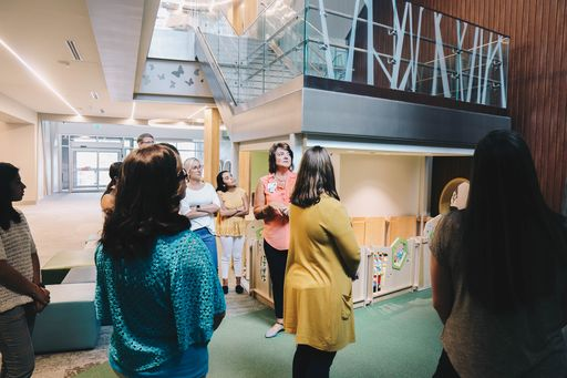 Brookwood Welcomed New Teachers with Tour of Anna Shaw Children's Institute