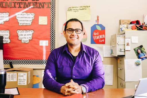 Miguel Gonzalez Recognized as Northwest Georgia P-20 2019 Mentor Teacher of the Year