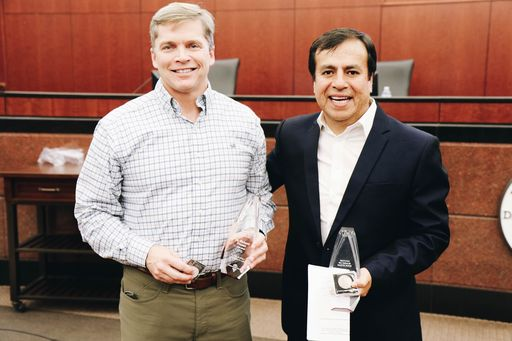 Reception Honors Service of Dr. Rick Fromm and Dr. Pablo Perez