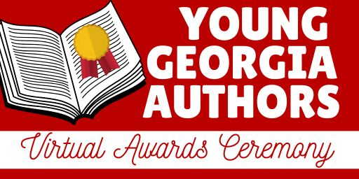 Join Us for the Young Georgia Author Virtual Award Ceremony!