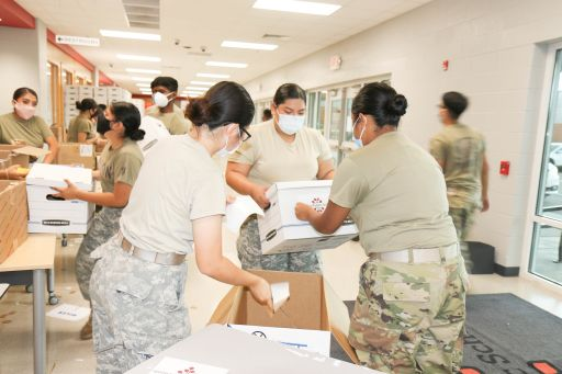 DPS Distributes Family Resource Boxes