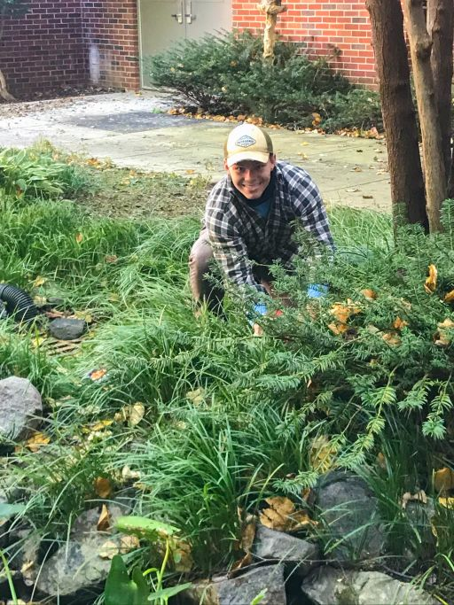 City Park Staff Spend Weekend Cleaning Outdoor Learning Center