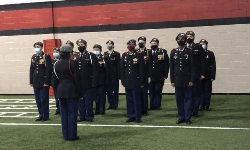 "DHS JROTC Program maintains ""Honor Unit with Distinction"" Accreditation"