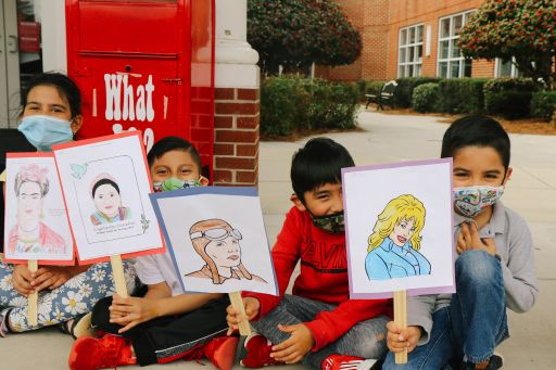 City Park Students Celebrate Women's History Month