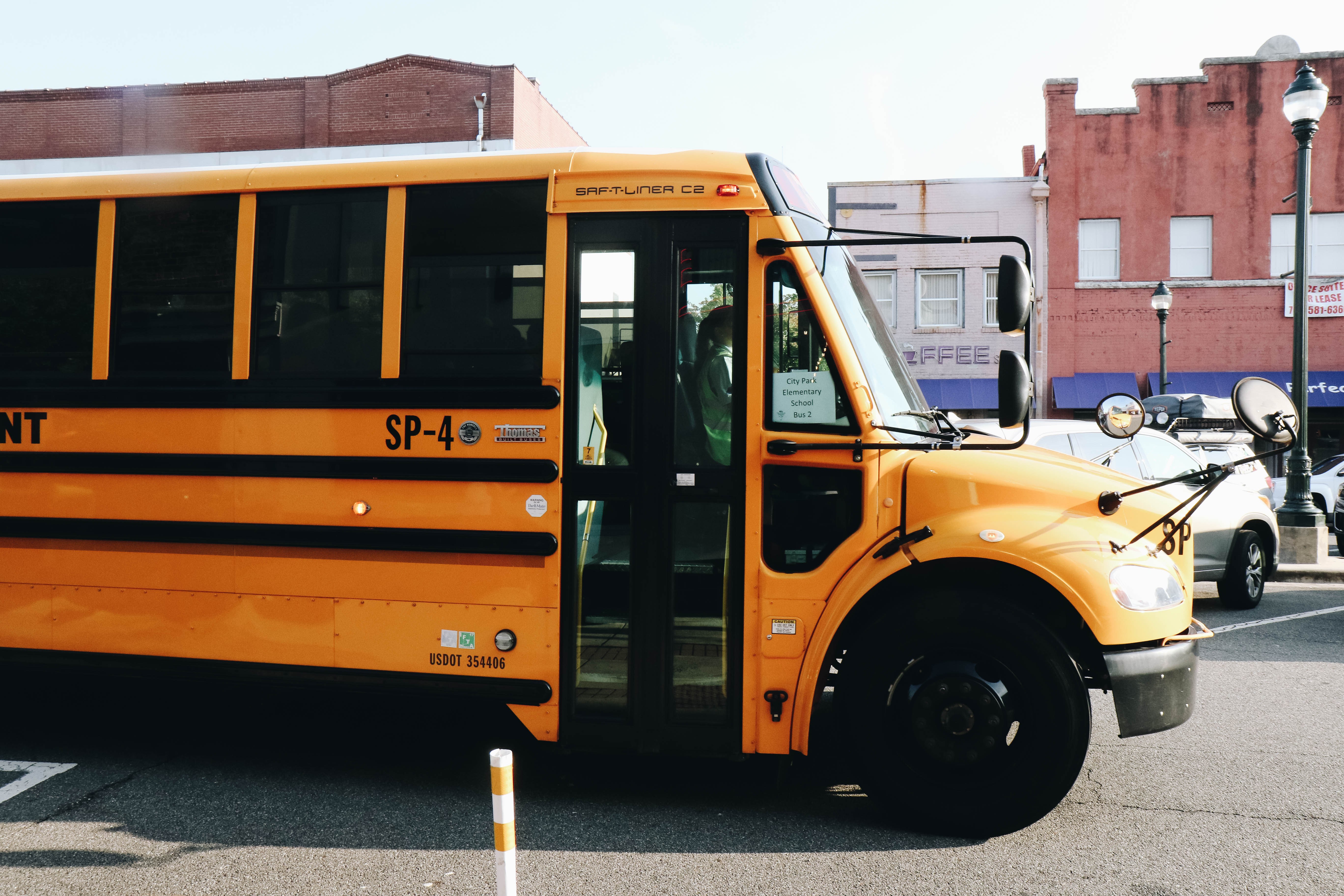 school bus in Dalton