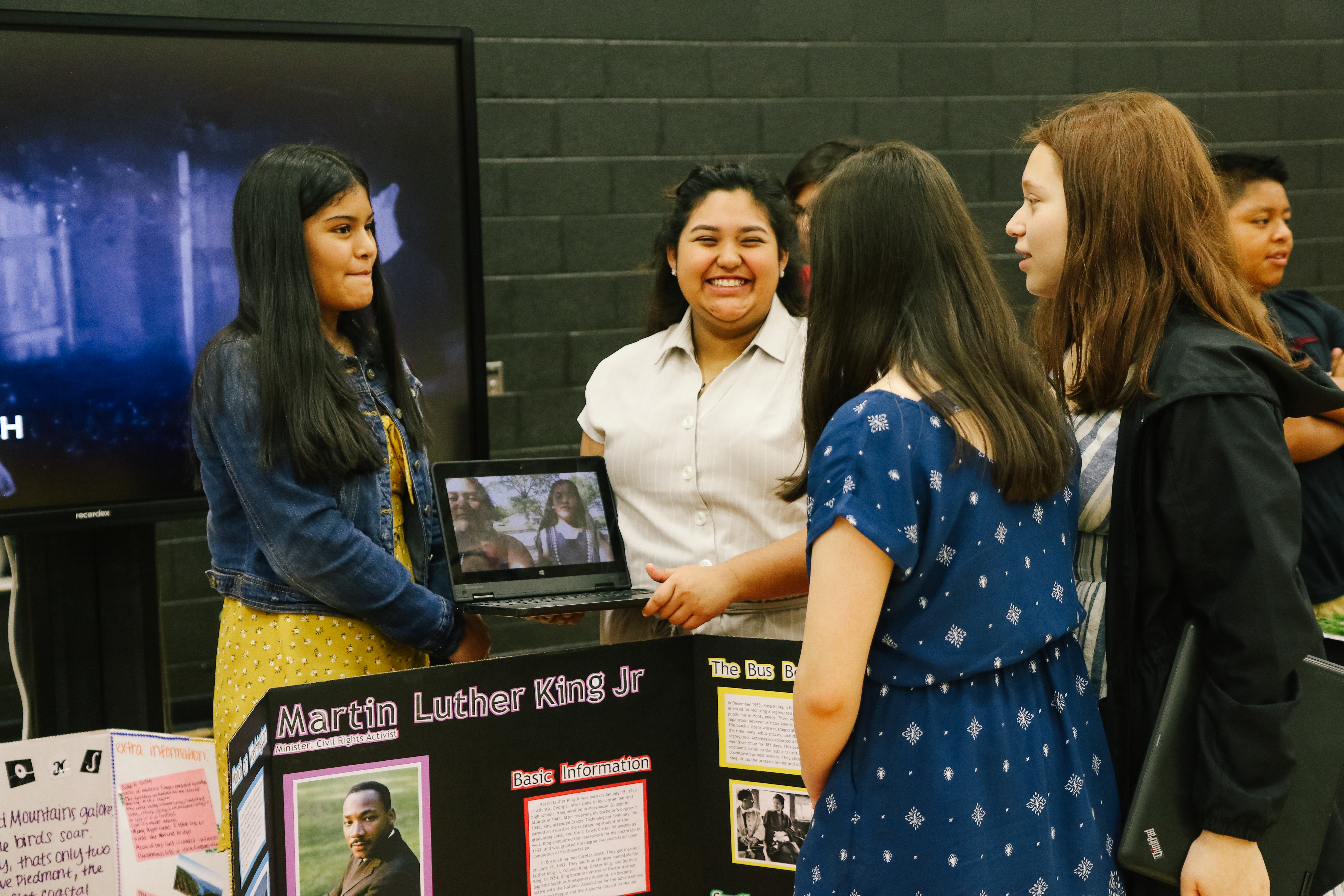 Students present project